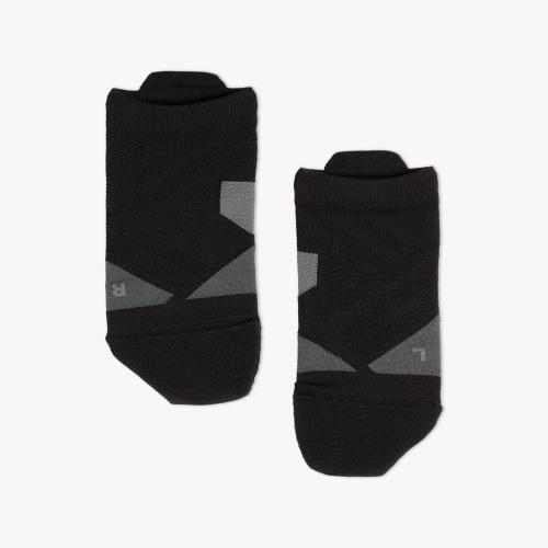 On Running M Low Sock Black Shadow