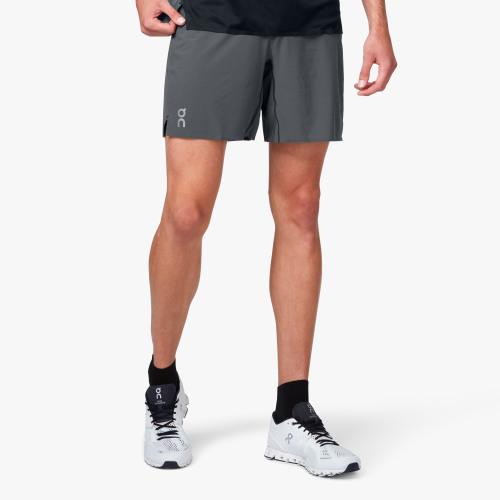 On Lightweight Shorts Shadow Black 2