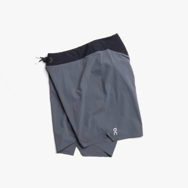 On Lightweight Shorts Shadow Black