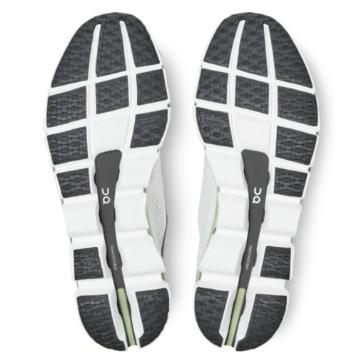 On CloudBoom White Black sole