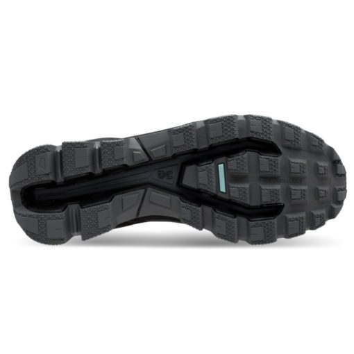 On Cloudventure Waterproof Black Graphite sole